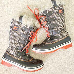 SOREL tofino herringbone winter boots